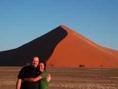 Red sand at Sossusvlei, Namibia